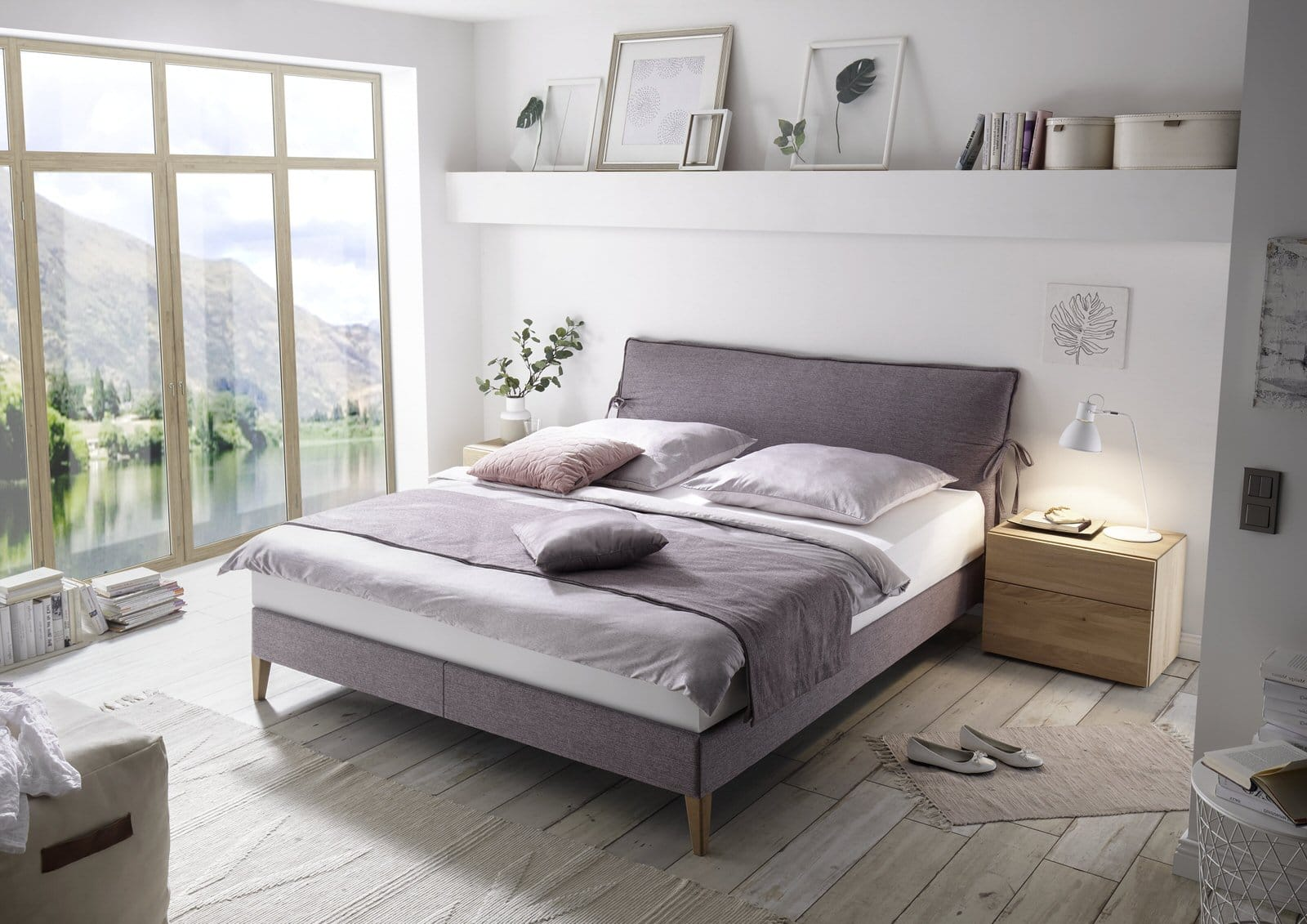 Boxspring - Couture nature II - Blunier